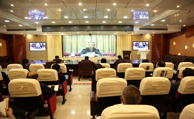 胡春华出席全国农业生产视频调度会并讲话