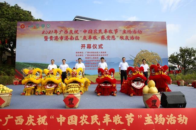 中国农民丰收节 广西各地花式庆丰收